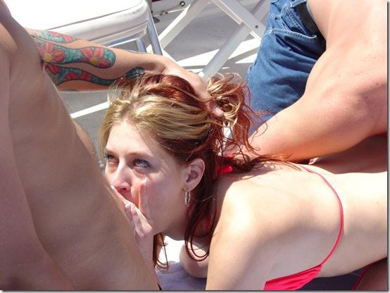 boat gang bang